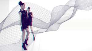 Digital Fashion - 3D women and network